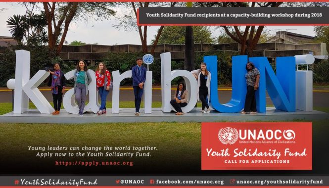UNAOC Youth Solidarity Fund 2019 for Youth-led Organizations